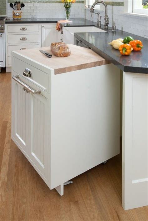 roll around kitchen island roll around cabinet and optional island can be tucked