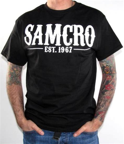 Tshirt T Shirt Samcro sons of anarchy t shirt samcro 1967