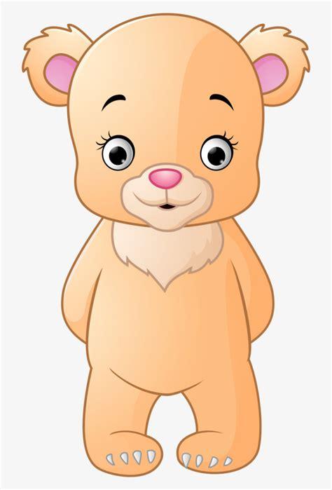 imagenes animados de osos dibujado a mano lindo oso de dibujos animados de pie