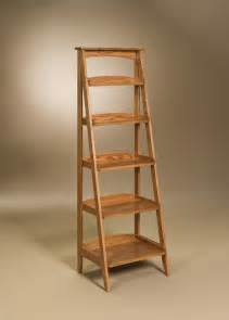 Ladder Shelf by Ladder Style Bookshelf Furniture Ladder Wooden Shelf