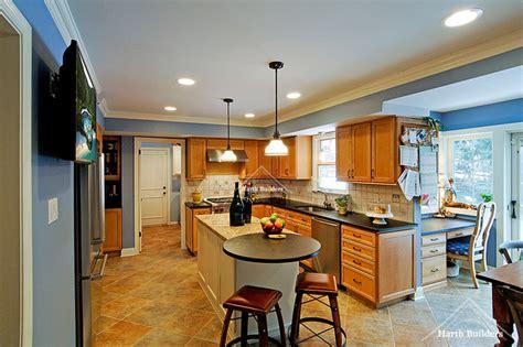 Kitchen Nook Bump Out Bump Out Addition Modern Kitchen Philadelphia By