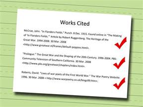 4 ways to write a works cited page wikihow