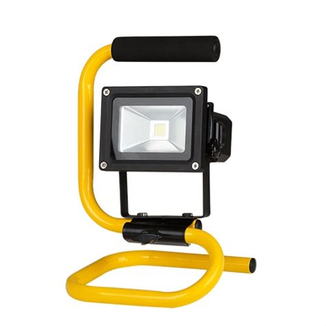 Lu Sorot Led Floodlight 10w Rgb Rubick rechargeable dimming led floodlight 10w 3 steps of dimming 5500k ip65 ultralux