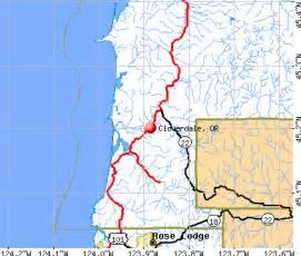 cloverdale oregon or 97112 profile population maps