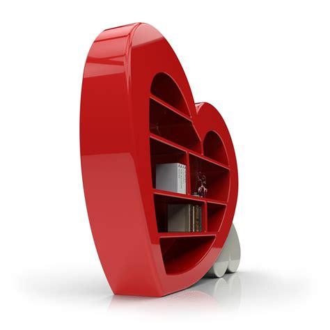 libreria rossa libreria cuore by zad italy in adamantx rosso bianco nero