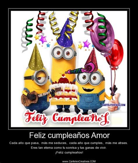 imagenes de feliz cumpleaños amor animadas feliz cumplea 241 os amor carteles creativos desmotivaciones