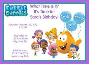 20 personalized guppies birthday invitations