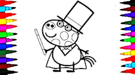 pedro pony coloring page coloring pages peppa pig pedro pony the magician coloring