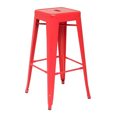 backless metal bar stools metro backless metal bar stool eurway modern