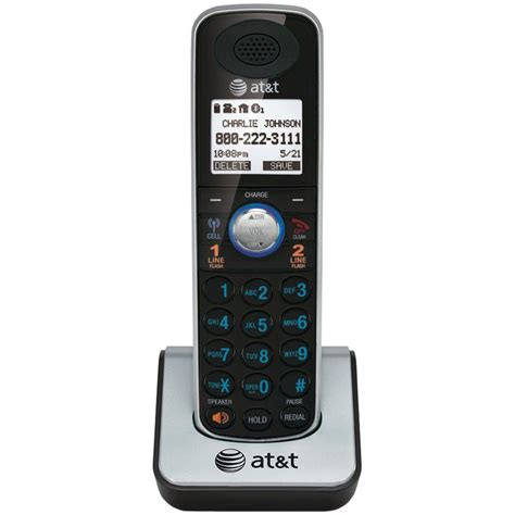 at t dect 6 0 handset cordless phone with bluetooth