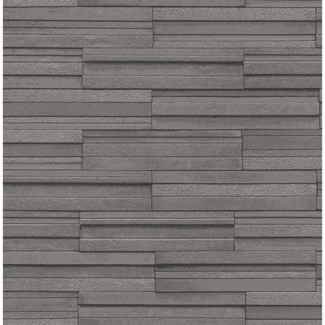 tile wallpaper decor ceramica slate tile washable wallpaper charcoal