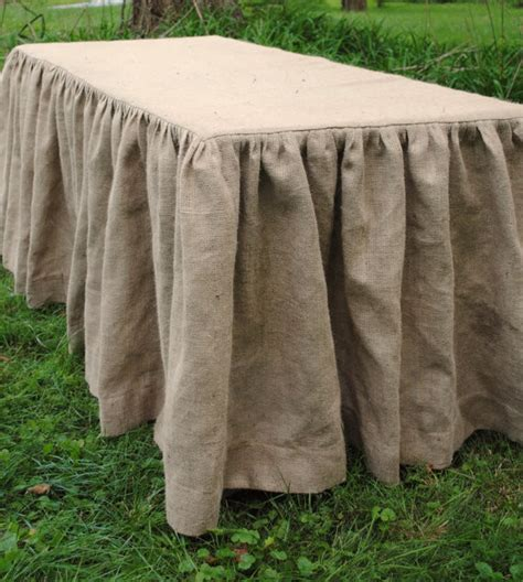 burlap tablecloth by paula and erika traditional