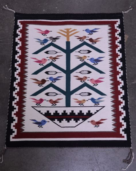 Southwest Rugs And Blankets by Navajo Indian Tree Of Pictorial Rug