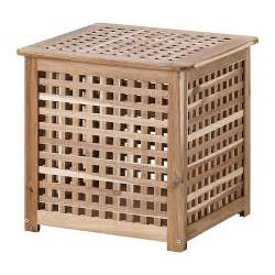 Wooden Storage Ikea Hol Side Table Ikea