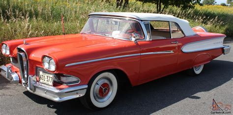 Edsel Ford Car For Sale by 1958 Ford Edsel Convertible Sale