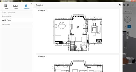 2d Floor Plan Software by Free Floor Plan Software Homebyme Review