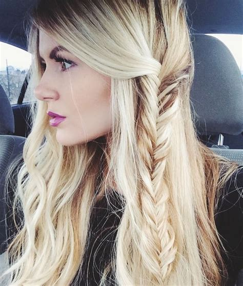fishtail braid on the side fishtail summer side 20 beautiful fishtail braided hairstyles styles weekly