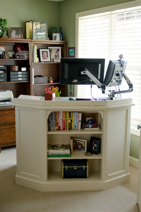 Home Office Standing Desk Work In Motion Alternatives To The Desk And Chair