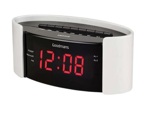 goodmans gcr01 alarm clock radio