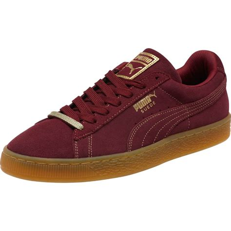 gold mens sneakers suede classic gold foil s sneakers ebay