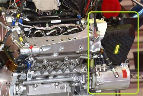 Mgu K Ferrari dettaglio mgu k e serbatoio olio power unit ferrari 2014
