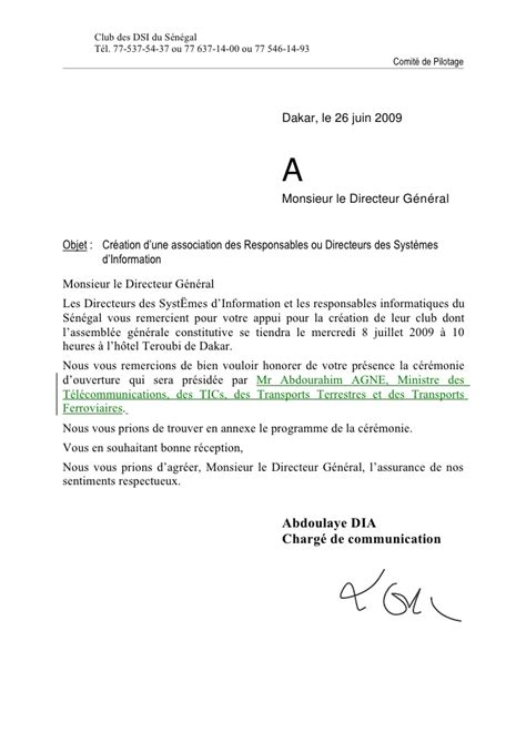 Exemple De Lettre D Invitation Colloque lettre confirmation invitation aux dg ag du 8 jul 09