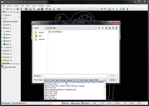 layout editor dxf how to convert dxf to gdsii with layouteditor 2014