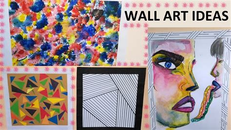 diy wall art creative and simple ideas to use diy creative wall art ideas 4 easy to do wall art ideas