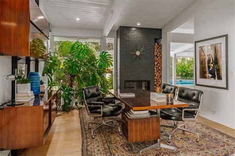 astounding mid century modern home office interiors