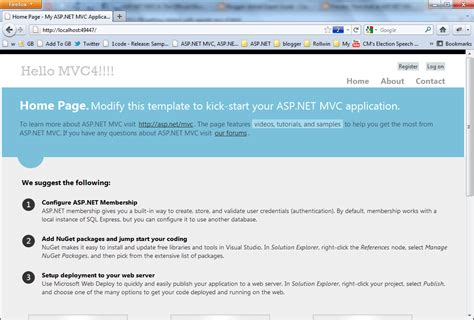 mvc layout html action first look at asp net mvc 4 templates dotnetexpertguide com
