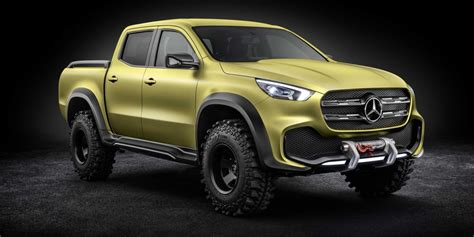 mercedes pickup truck mercedes benz just announced a gorgeous new pickup truck