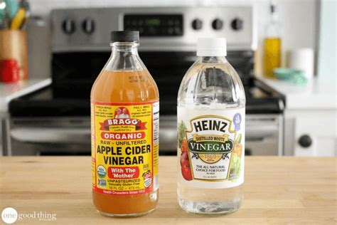 Shelf Of White Vinegar by 10 Foods That Will Never Expire One Thing By Jillee