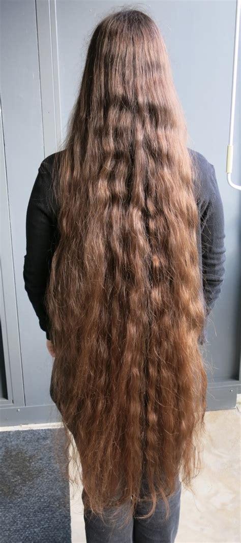 sehr lange haare