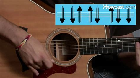 tutorial guitar strumming how to play strum pattern 4 guitar lessons youtube