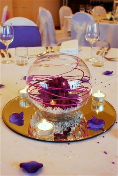 bowl centerpieces for tables 25 best ideas about fish bowl centerpieces on