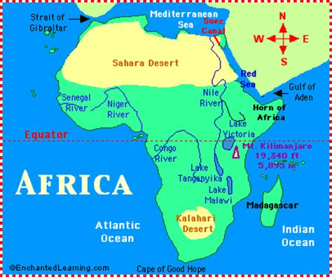 africa map nile river htonusi unit 5