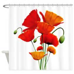 poppy colored curtains bunch of california poppies shower curtain by getyergoat