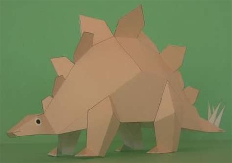How To Make A Dinosaur Model From Paper Mache - pin by mauther papermau on papermau