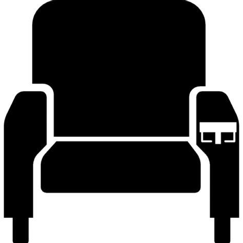 cinema siege silhouette si 232 ge de cin 233 ma t 233 l 233 charger icons gratuitement