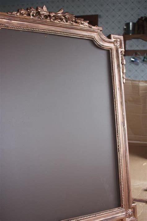 diy chalkboard with picture frame how to diy a fancy chalkboard frame offbeatbride