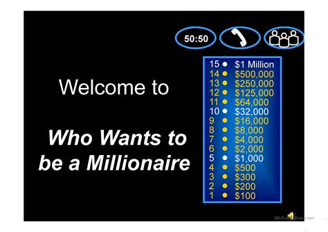 millionaire powerpoint template with sound prepositions who wants to be a millionaire worksheet