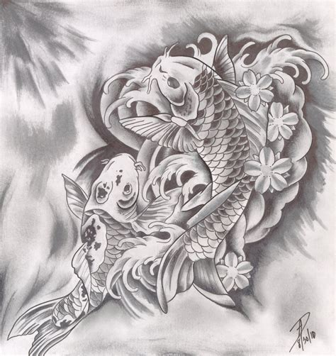 two koi fish tattoo designs 1000 images about ideas on