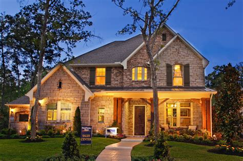 the huntsburg traditional exterior houston by