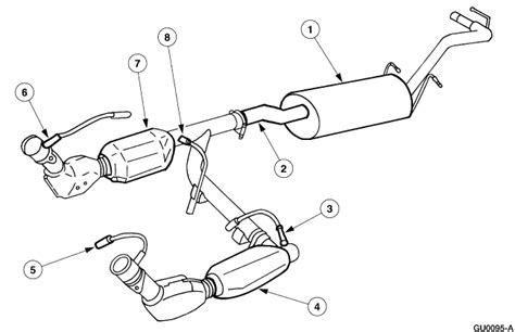 Exhaust System Diagram Ford F150 Ford F 150 Exhaust System Diagram Car Interior Design