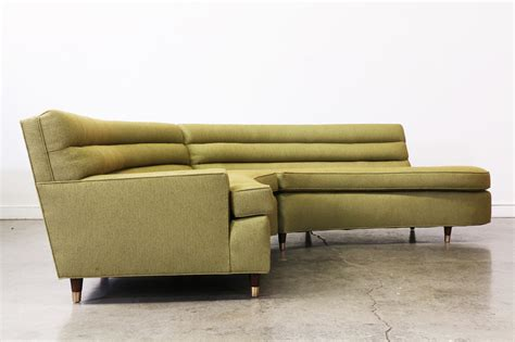 Mid Century Sectional by Mid Century Olive Green Sectional Sofa Vintage Supply Store