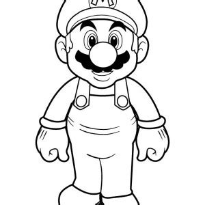 mario fireball coloring page picture of super mario brothers coloring page mario