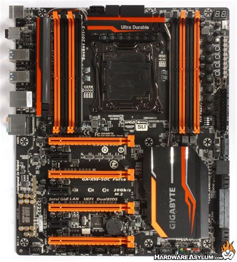 force layout features gigabyte x99 soc force overclocking motherboard review