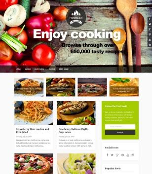 blogger themes food food and drink blogger templates 2018 free download