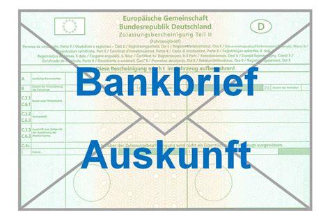 fahrzeugbrief bank onlinemodule ordnungsamt