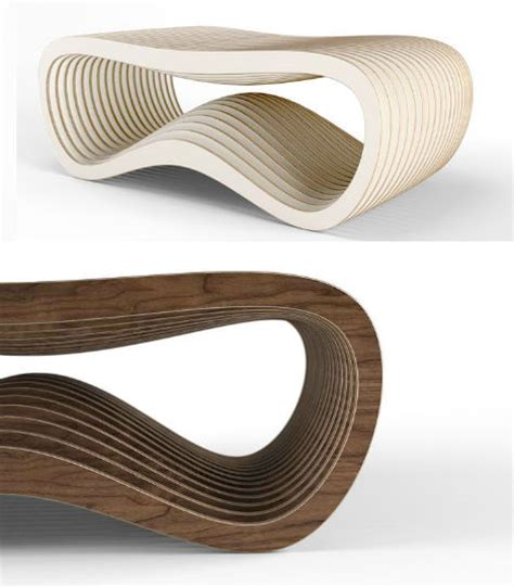 organic modern day furnishings manufactured digitally on